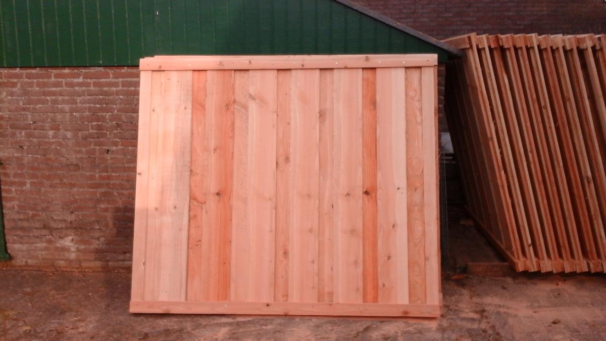 Schutting schermen hout design